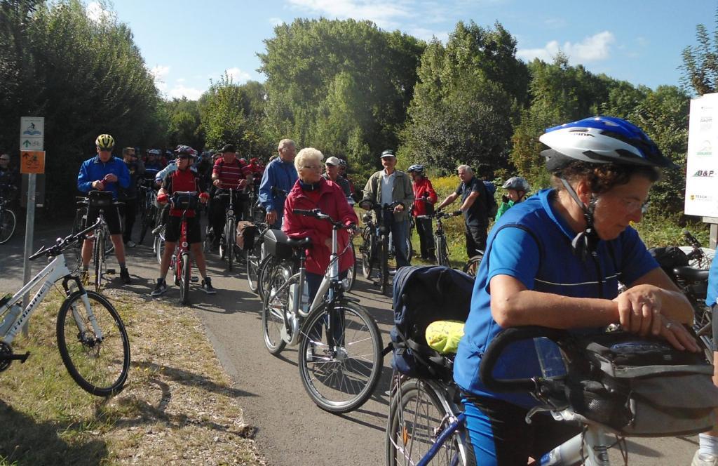 Recarbo-Radtour - Radtour im Zeitz-Weißenfelser Braunkohlenrevier