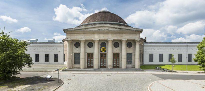 Führungen über das Gelände der Alten Messe und Besuch ausgewählter Messebauten – 14.08., 14 Uhr