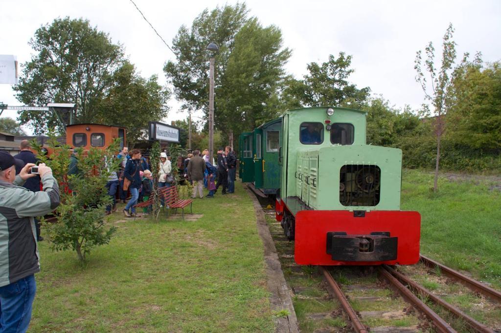 Fahrten mit der Museumsfeldbahn Leipzig-Lindenau zum Tag der Industriekultur
