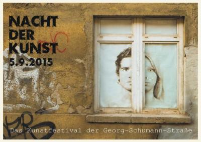 Nacht der Kunst in der Georg-Schumann-Straße