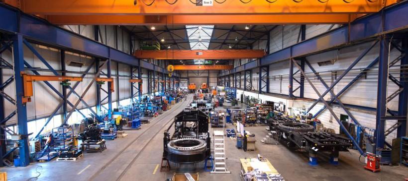 Besichtigung der Produktionsstätten von Kirow Ardelt GmbH