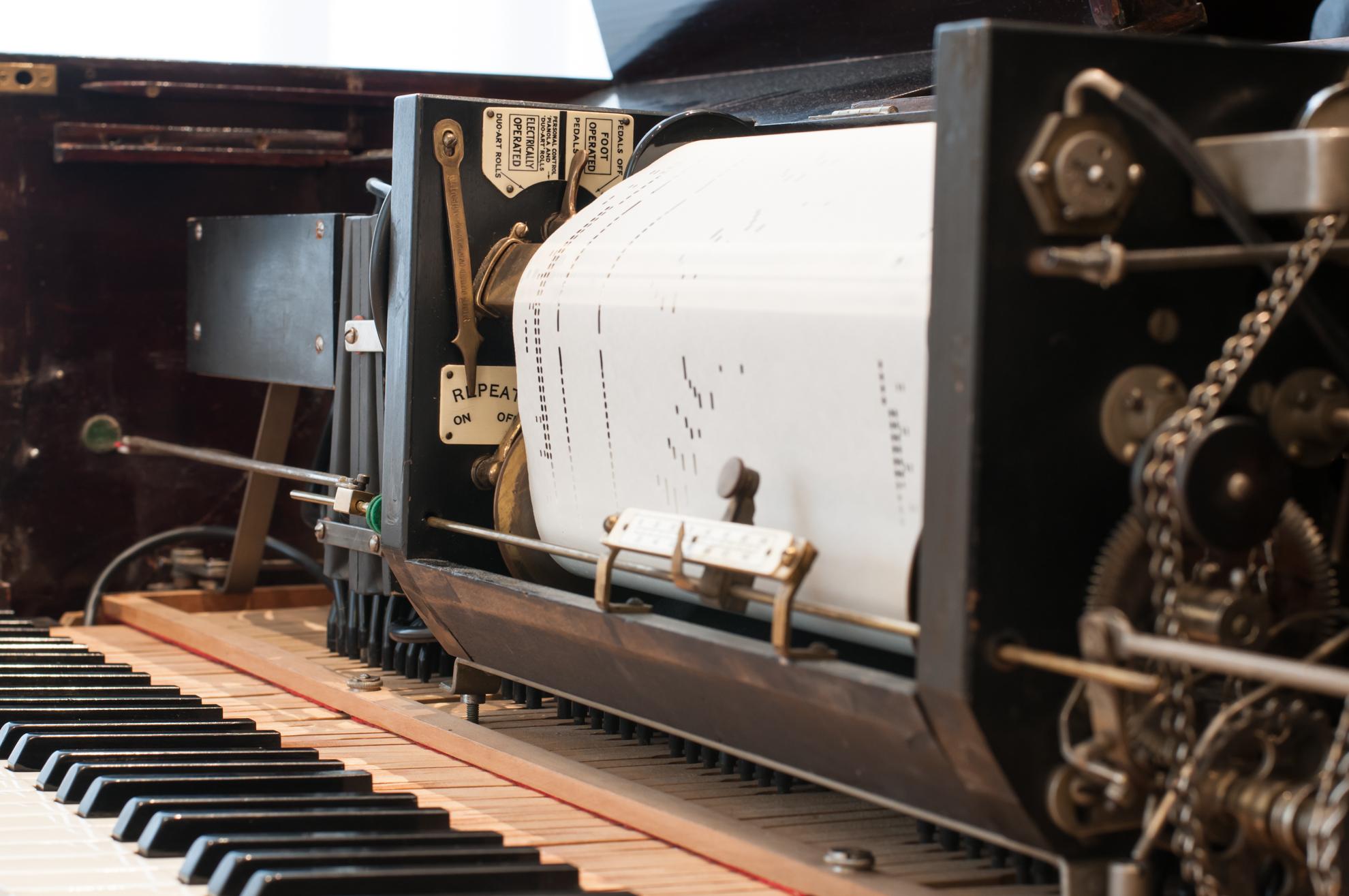 """""""Der unsichtbare Pianist"""" im Beethoven-Jahr. Gesprächskonzert am historischen Reproduktionsflügel – 03.09., 18.30 Uhr"""