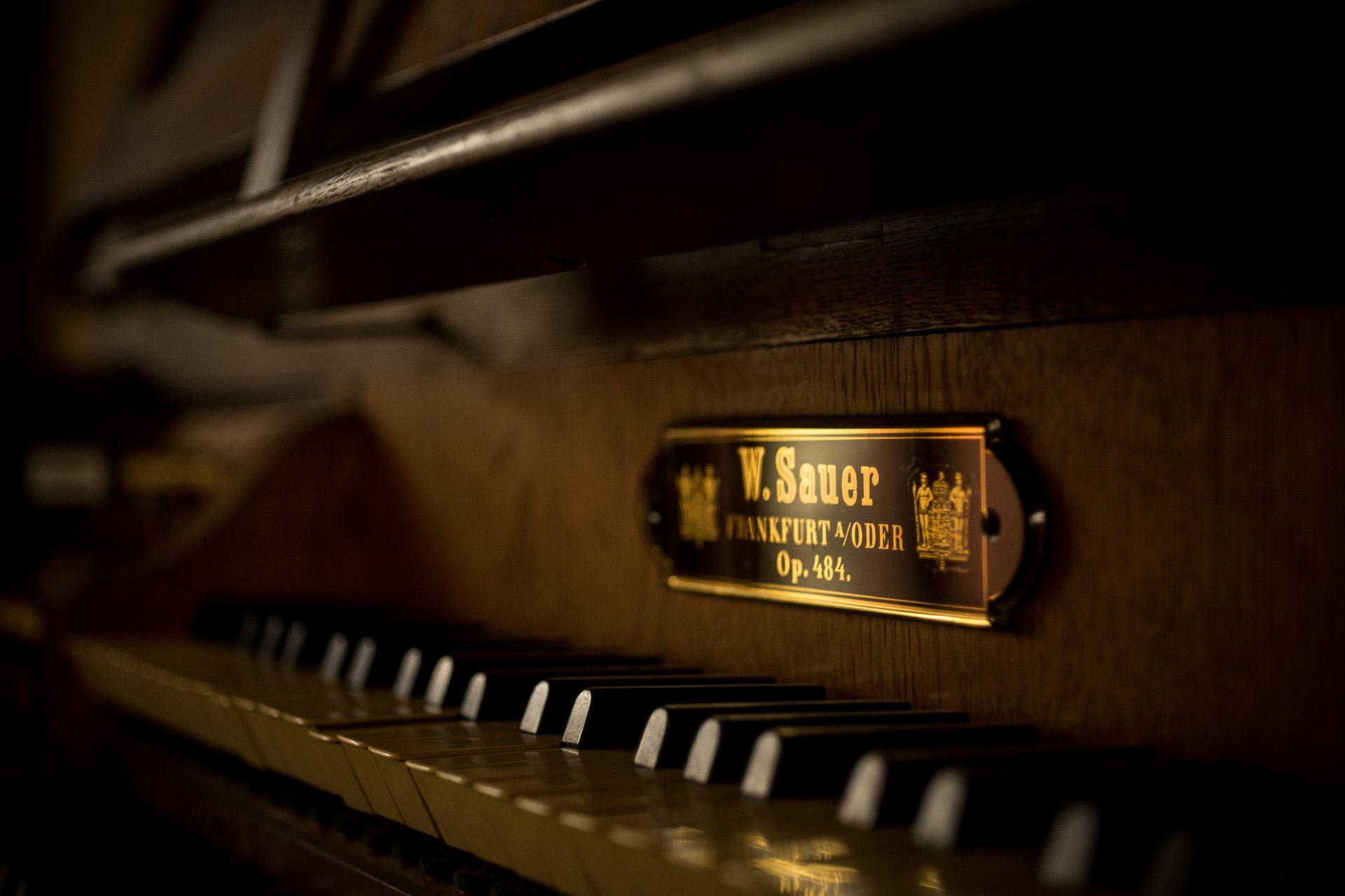 Sauer im Westen 2  - Orgelkonzert an der ältesten  W. Sauer Orgel Sachsens – 08.09.2021, 21.00 Uhr