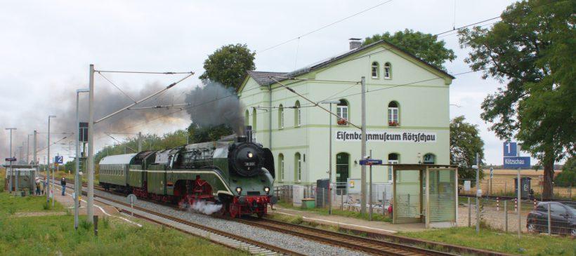 Tag der Offenen Tür im Eisenbahnmuseum Kötzschau