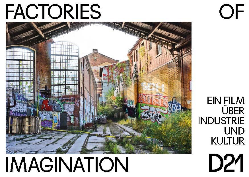 Filmvorführung »Factories of Imagination« mit Gespräch und Musik – 09.09.2021